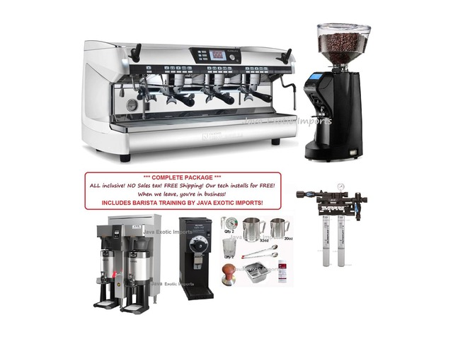 Simonelli AURELIA DIGIT Espresso Machine PACKAGE! INCLUDES BARISTA TRAINING! | free-classifieds-usa.com