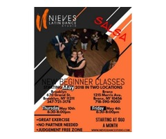 Nieves Latin Dance Studio offers new beginner salsa classes every month