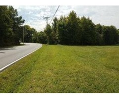 0.96 acres, level, road frontage and in prime location
