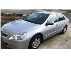 2005 Honda Accord LX $1000