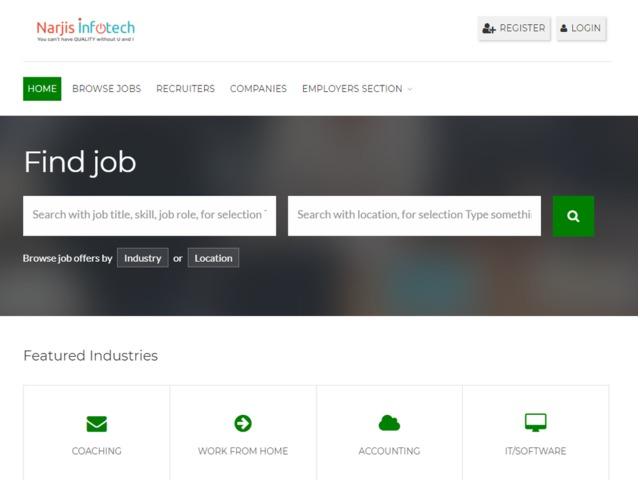 Get Job Portal PHP Script From Best Developer | free-classifieds-usa.com