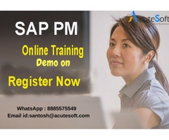 SAP PM Online Training With Real Time Experts By Acutesoft