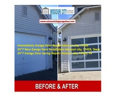 Emergency Garage Door repair in 1 Hour | Missouricity with $25.95 77459