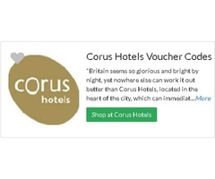 Save Easily on Your Travel - Use Corus Hotels Discount Codes