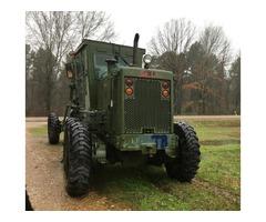 US Army 130G Cat Grader.