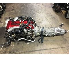 NISSAN SKYLINE GTR R34 RB26DETT MOTOR AND 6 SPEED GETRAG MT TRANSMISSION