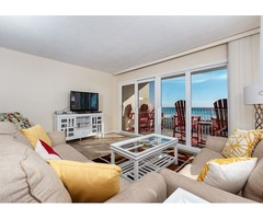 Wrap Around Balcony, Right On Beach, Free Beach Chairs And Golf!