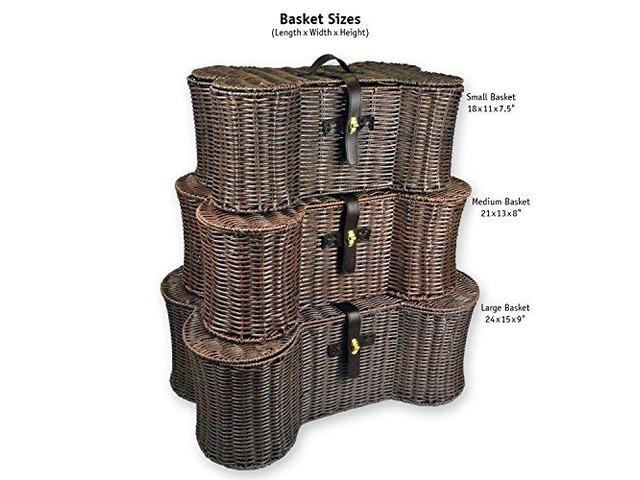 DII Bone Dry Medium Wicker-Like Bone Shape Storage Basket | free-classifieds-usa.com