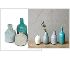 Creative Co-Op DA1092 Terra Cotta Vase Set