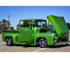 1956 Ford F-100 Short Wheel Base Pro Touring Show Winner