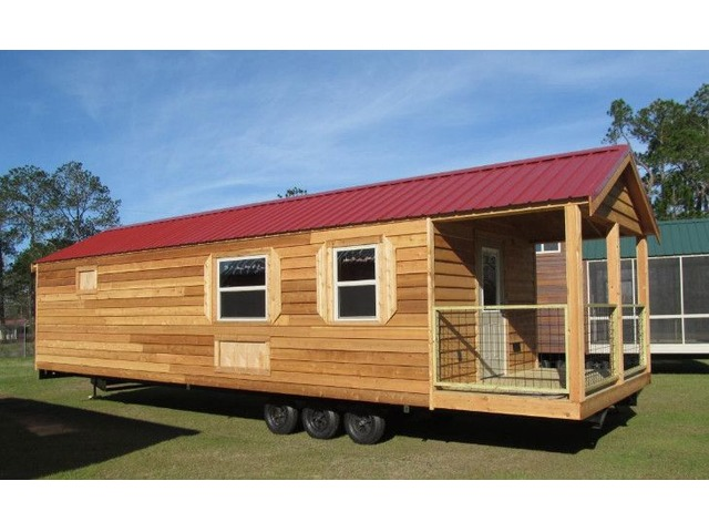 Rustic Cedar Cabin - RV Titled | free-classifieds-usa.com