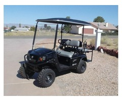 2013 GAS GOLF CART E-Z-GO SHUTTLE 2+2 .CUSHMAN 4 SEATER