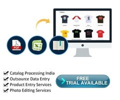 Catalog Processing India, Outsource Data Entry and Product Entry Services