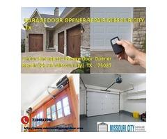 5 Star Garage Door Opener Repair Services $25.95 77459 Missouricity TX
