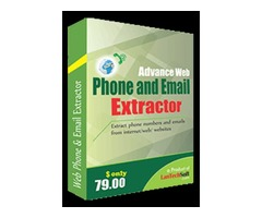 Advance web phone and email extractor is useful for business enhance