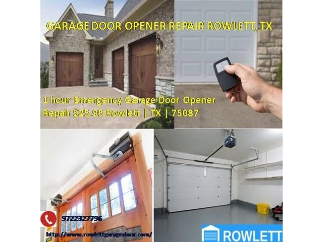 5 Star Garage Door Opener Repair Services 2595 75087 Rockwall Tx
