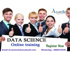 Data science online training provide by Acutesoft.