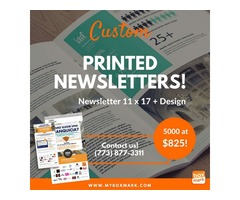 christmas newsletter printing  USA   | Boxmark