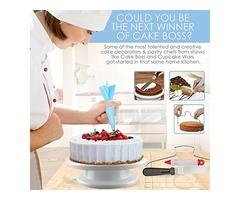 Cake Decorating Supplies – Professional Cupcake Decorating Kit
