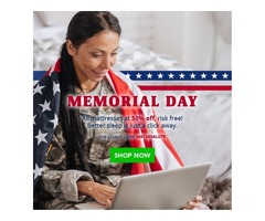 Bedding Stock Launches Memorial Day Sale With 50% OFF