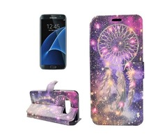 For Galaxy S 8 + Bells Pattern Horizontal Flip Leather Case with Holder