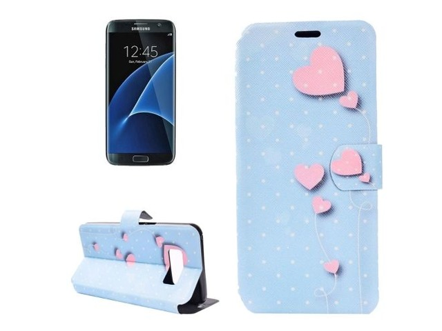 For Galaxy S 8 + Balloon Pattern Horizontal Flip Leather Case with Holder | free-classifieds-usa.com