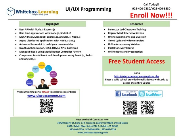 UI/UX Programming and QA (Quality Assurance) / QE (Quality Engineering) | free-classifieds-usa.com