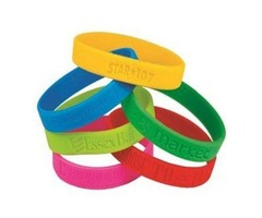 Cheap Customized Wristbands With A Messages