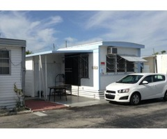 Mobile home furnished for rent