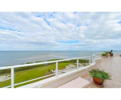 Grand Bay Club on Longboat Key Penthouse #1102  has sweeping sunrise to sunset views
