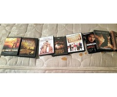 11 DVD'S/5 VHS Tapes for sale!