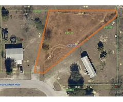LARGE MOBILE HOME LOT IN COMMUNITY