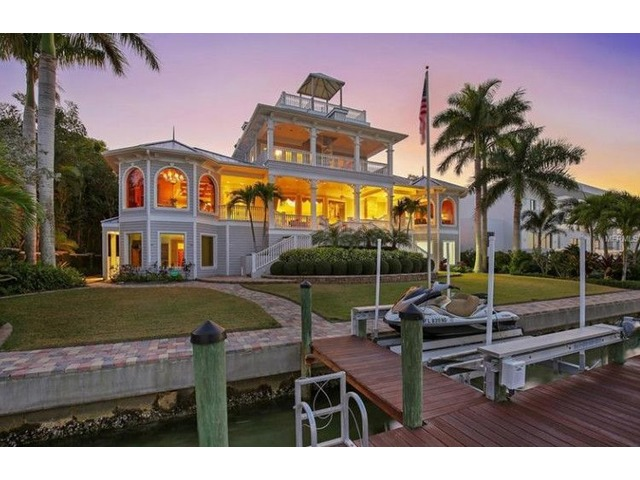 Magnificent Sarasota Bay Views Key West Style Home | free-classifieds-usa.com
