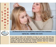 Lice Removal Service by Certified Lice treatment center Technicians