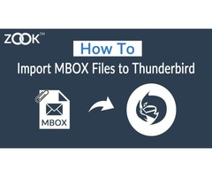 Import MBOX File in Mozilla Thunderbird