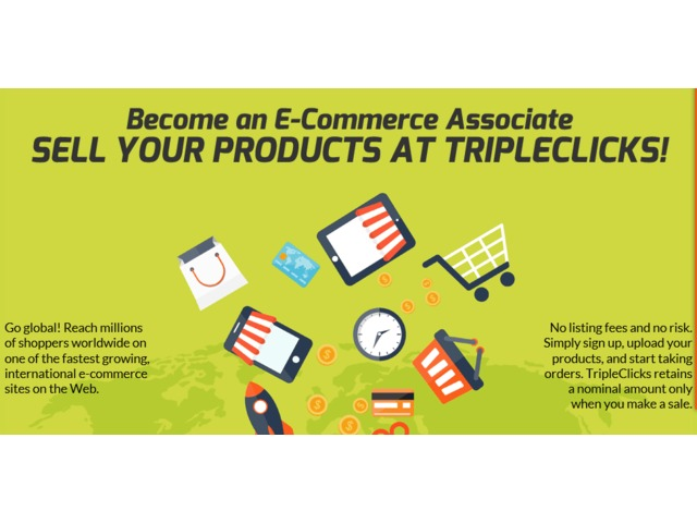 Sell your products and service online to millions of buyers all over