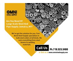 Reliable Steel supplier in Jamaica, New York - OMNI Steel Supply