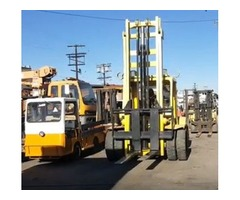 HYSTER 15,000 LBS CAPACITY FORKLIFT