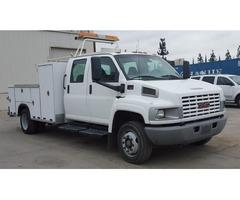 2003 GMC C4500 CREW CAB UTILITY TRUCK
