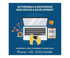 Modern creative website design development