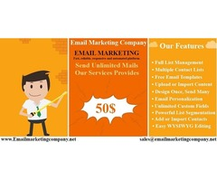Trusted Email Marketing at $50