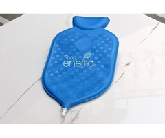 Shop for our 2-quart Complete Rubber Enema Bag Kit Blue