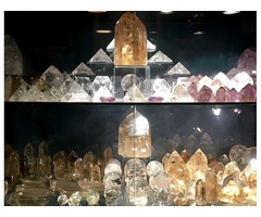 CITRINE POINTS and CITRINE SPHERES in NYC