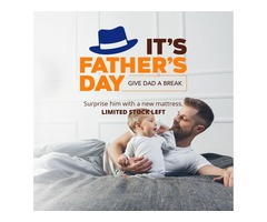 Bedding Stock Honors Fathers with a $100 OFF and Other Freebies This Father's Day