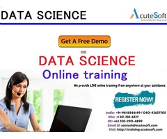 Data science and machine learning online training provide by Acutesoft