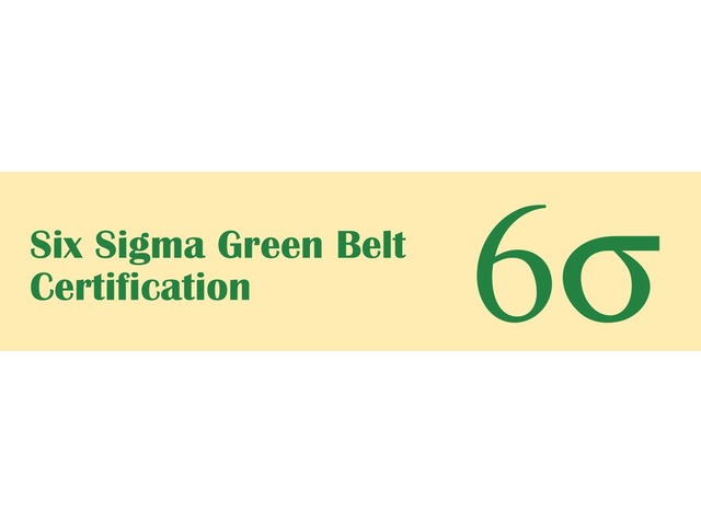 Six Sigma Green Belt Training In Seattle Development Training