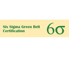 Six Sigma Green Belt Training in Seattle