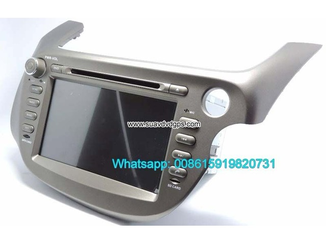Honda Jazz Fit right hand drive Car Android GPS Radio WIFI 3G DVD
