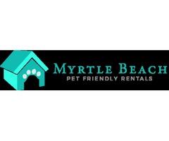 South Carolina beach pet friendly rentals from www.mbpfr.com.