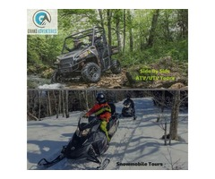 Side by Side ATV and Snowmobiling Adventures by GrandAdventures.com